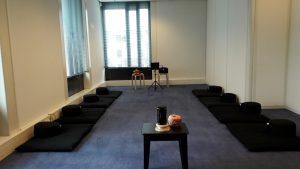 Meditatie- en praktijkruimte