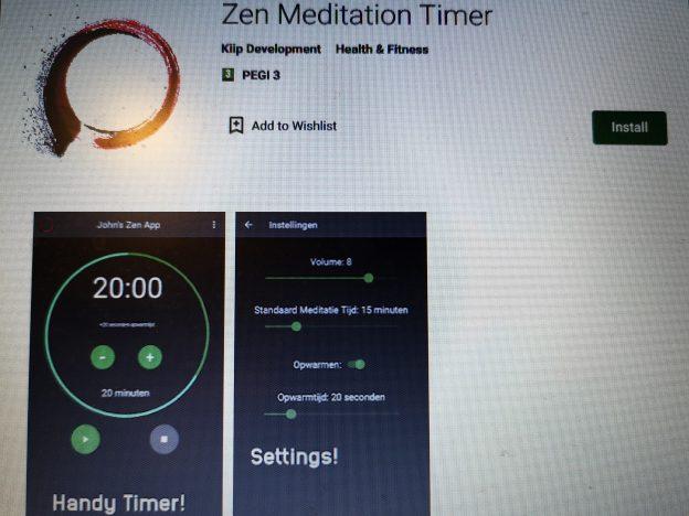 zen meditatie timer